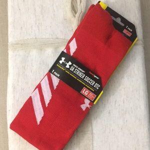 18853627ed21 Under Armour Underwear   Socks - Under Armour UA Striker Soccer OTC Socks
